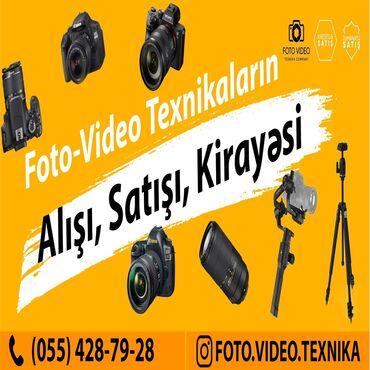 fotoaparat aksesuarlari - Azərbaycan: Fotoaparatlarin alisi, satisi ve kiraye verilmesi.Butun növ