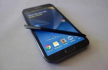Samsung galaxy note 2 - Азербайджан: Б/у Samsung Galaxy Note 2 Серый