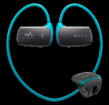 sony наушники в Кыргызстан: MP3 плеер Sony NWZ-WS615 (качество хорошее)