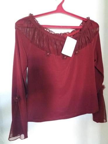 нарядные блузки в Кыргызстан: Блузка нарядная разм 48 250сом