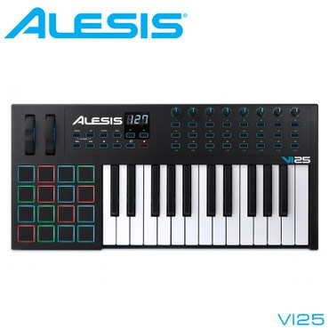 Синтезаторы - Бишкек: Midi-клавиатура:VI25 — усовершенствованная USB/MIDI клавиатура и MIDI