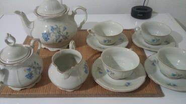 Čajnici | Srbija: Set od porcelana za caj ili kafu,fino očuvan. Pogledajte i ostale moje