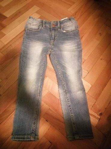 Pantalone farmerice br - Srbija: Farmerice za decaka-super skinny fit br 98. Obucene jednom. Placene