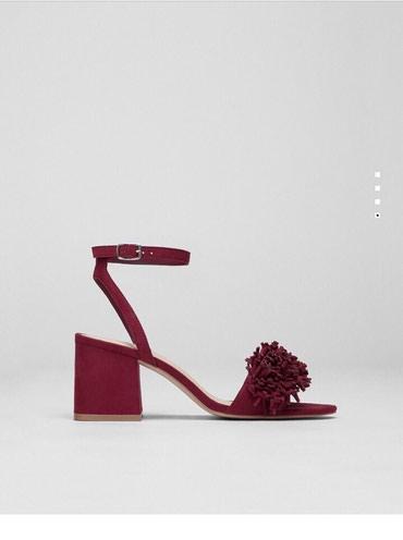 Bordo Pull&Bear sandale, prelepe, jednom nošene, veličina:36 - Belgrade