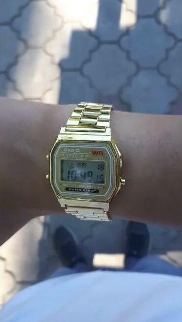 Серые Мужские Наручные часы Casio