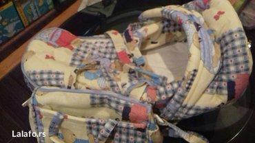 Nosiljka i torba za bebe par puta koriscena - Pozarevac