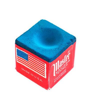 Бильярдные столы - Кыргызстан: Все для бильярда!Мел Master (Blue), в упаковке и штучно. Цена указана