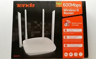wi-router в Кыргызстан: Wi-Fi роутер Tenda F9 Router 4х6dBi Antennas 600MbpsСтандарт