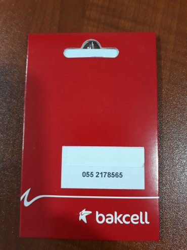 Bakı şəhərində Bakcell 2178565 yeni