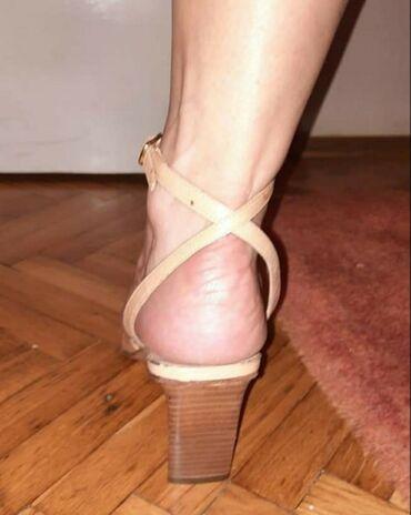 Prodajem nove Italijanske kozne sandale. Poslednji par