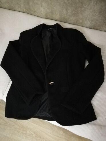 Sako crne boje - Srbija: Sako crne boje. L veličina. Made in Italy. Jedno dugme samo. Bez