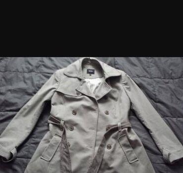 Sivi Koton mantil. Vel. 40.odgovara i manjem broju. U odlicnom stanju