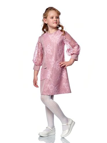 Нарядное платье для девочки артикул: 20-03размеры: 134, 140, 146