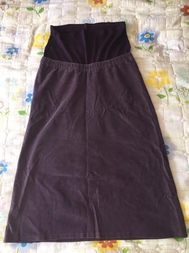 Велветовая юбка для беременных, расмер: L Цена окончательная в Бишкек