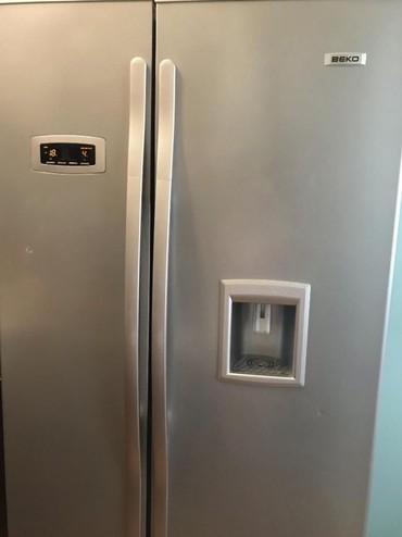 beko кофемашина в Кыргызстан: Side-By-Side холодильник Beko