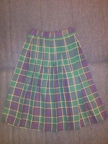 Škotska suknja, odlično očuvana. Veličina xs, poluobim struka - Nis