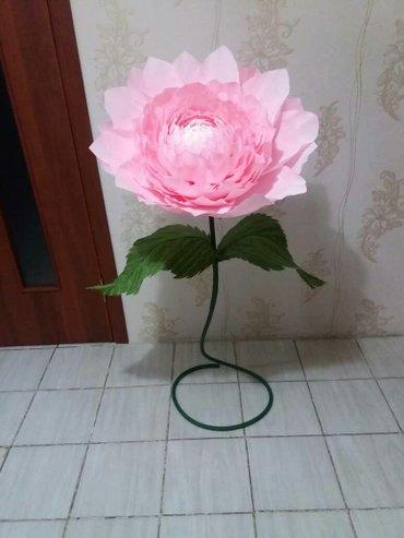 Изготовлю ростовые цветы,цветы в в Лебединовка