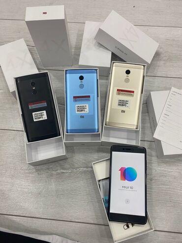 защитное стекло meizu m5 note в Кыргызстан: Новый Xiaomi Redmi Note 4X 32 ГБ Серый