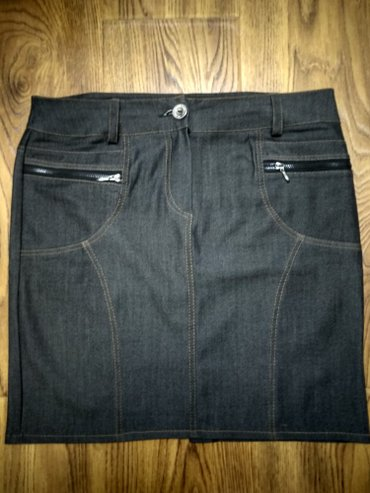 Женская классическая юбка, размер 48-50, сидит как влитая в Лебединовка