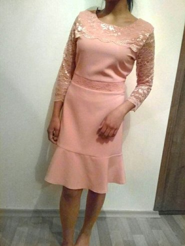 Красивое милое нежное платье розовое в Бишкек