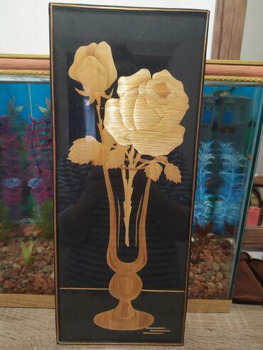 47 объявлений: Продаю советскую соломенную картину.Высота 37 см В отличном состоянии