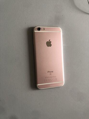 железный диск на 16 в Азербайджан: Б/У iPhone 6s 16 ГБ Розовое золото (Rose Gold)