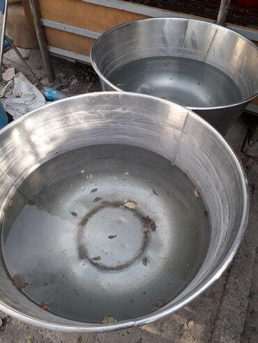 redmi note 5 цена в бишкеке в Кыргызстан: Посуда для мешалки,нержавейка цена за 2