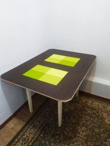 Стол обеденный Б/У . Размер0, 16. Высота 0,73. Цена 1500 сом