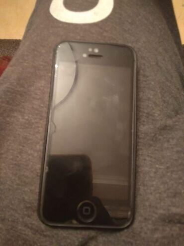 Apple Iphone - Azərbaycan: İşlənmiş iPhone 5 16 GB Qara