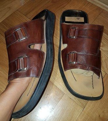 Braon kozne sandale broj pitajte - Srbija: Salamander kozne papuce-sandale letnje za muskarce. braon boje - par