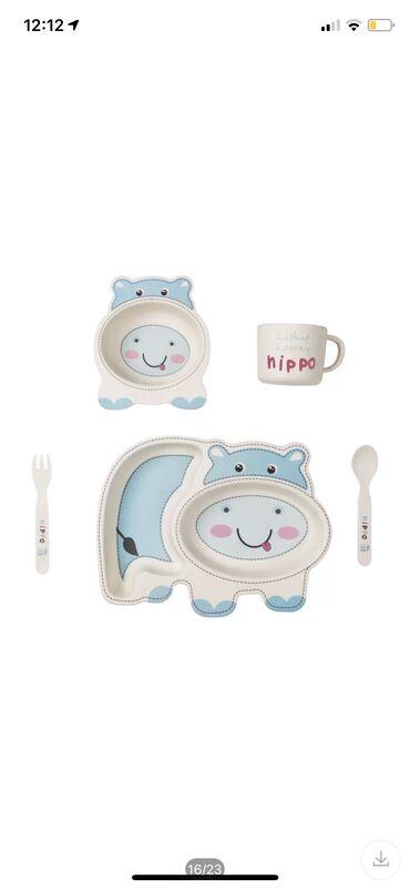 Бамбуковая посуда для вашего ребёнка! Фирма Coeco уже зарекомендовала