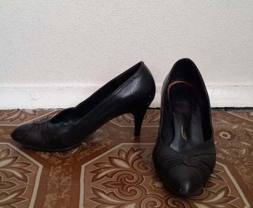 Туфли женские кожаные. Размер 36. Состояние хорошее. в Бишкек