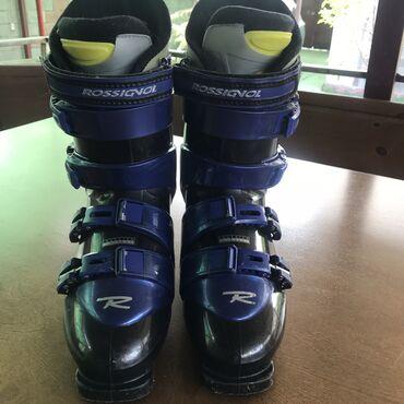 Лыжи - Бишкек: Горнолыжные ботинки ROSSIGNOL 27-28.5 размер,в отличном состоянии,есть
