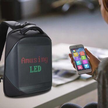 zapchasti na mersedes w210 в Азербайджан: Светодиодный водонепроницаймый рюкзак JAY BIOSLED Антивор с led