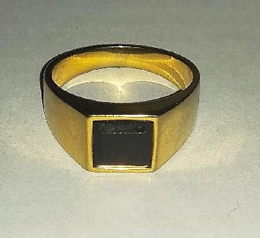 Чёрные кольца из вольфрама - Кыргызстан: Перстень из вольфрама или титана в отличном состоянии. Размер 20