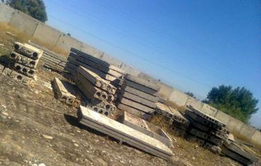 сенсорная плита бош в Кыргызстан: Продаю новые и б/у плиты перекрытия заборные плиты ФСК и другие