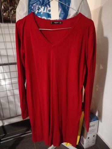 Βαμβακερό φόρεμα σχετικό κοντό αναλόγως και το ύψος,χρώμα κόκκινο