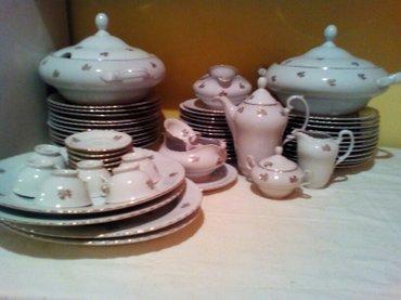 Kuhinjski setovi - Pozarevac: Thun, ceski porcelan, servis za 12 osoba sa kompletom 6 soljica za