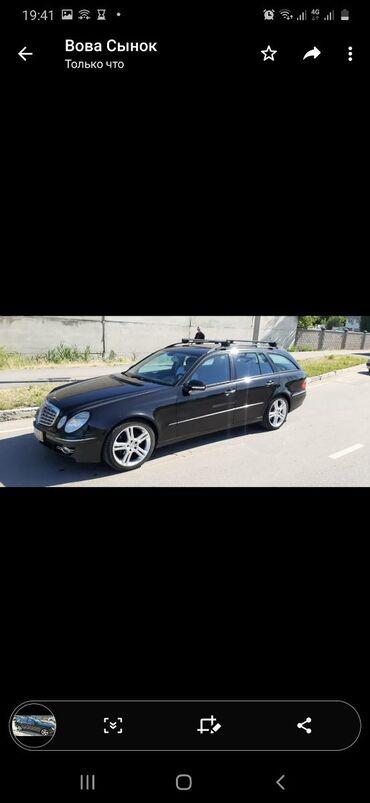 Автомобили в Душанбе: Mercedes-Benz E-Class 3 л. 2007 | 220000 км