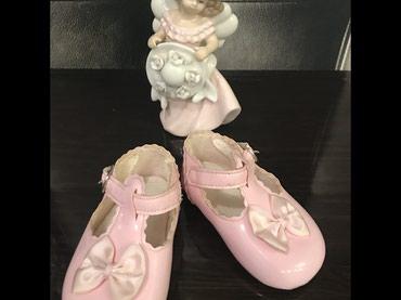 детские лаковые туфли в Азербайджан: Лаковые туфельки-пинетки для девочки 6-9-12 мес