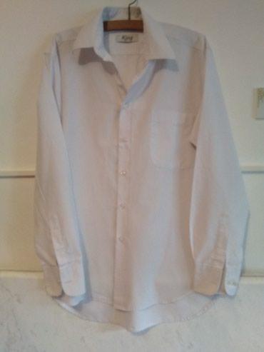Muška odeća | Kragujevac: Muška košulja King, L veličina, ramena 48 cm, rukavi 63