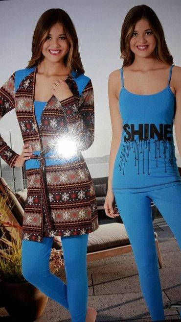 Новинка пижама тройка качество ХБ производства Турции в Душанбе
