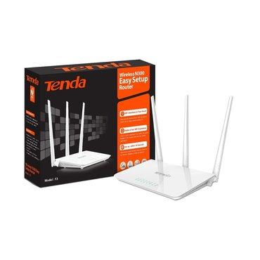 wi-router в Кыргызстан: Wi-Fi роутер Tenda F3 Router 3*5dBi Antennas 300Mbps