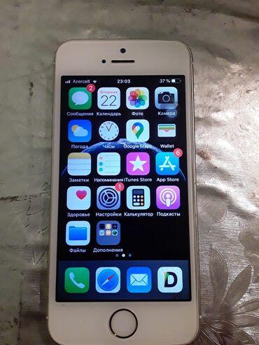 Apple Iphone - Azərbaycan: İşlənmiş iPhone 5s 16 GB Qızılı