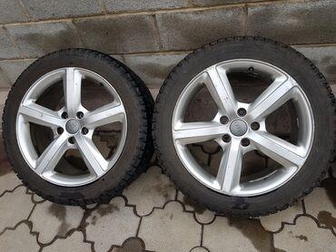 zheltyj porsche в Кыргызстан: Диски оригинальные с зимней новой резиной, ауди Q7 Porsche cayenne, w