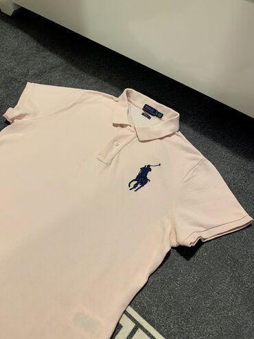 Ralph lauren polo - Srbija: Ralph Lauren Polo majica,svetlo roze boje.Velicina XL