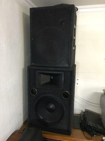 Электроника - Тынчтык: Продаю или меняю музыкальный аппарат 5 калонка 15 2 уселитель и