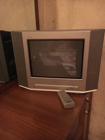 Televizorlar - Sony - Bakı: Gorunduyu kimi kohne tv di. Cox ucuz qoymusam tecilidi. Islekdi pultu