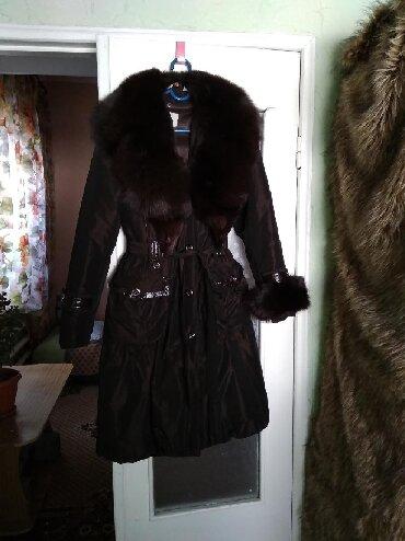 женский плащ весна в Кыргызстан: Плащ-пальто. Одевалось только пару раз и только на мероприятия. Мех