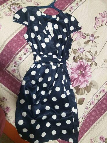 летнее платье 48 размера в Кыргызстан: Продается турецкое платье новое Размер 48 Ткань атлас